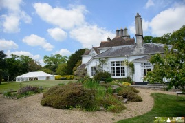 Hollybank House is the perfect venue for a marquee wedding with b & b accommodation for your guests!